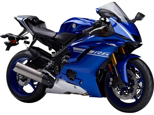 Yamaha yzf r6 abs yamaha blue 2017 new motorcycle for sale for Yamaha r6 600 for sale