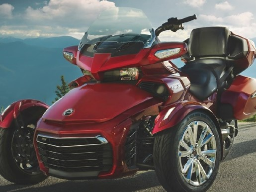 can am spyder f3 limited 6 speed semi automatic se6 2017 new motorcycle for sale in powassan. Black Bedroom Furniture Sets. Home Design Ideas