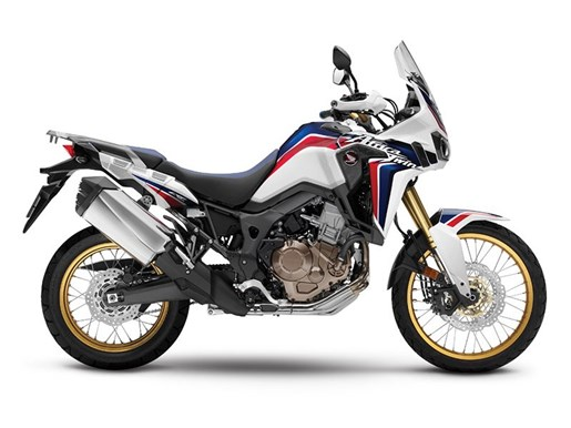 2017 Honda Africa Twin Tricolor Red / White / Blue Photo 1 of 1