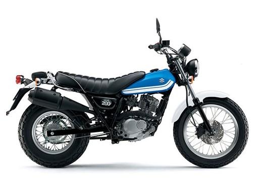 2017 Suzuki VanVan 200 - Blue Photo 1 of 1