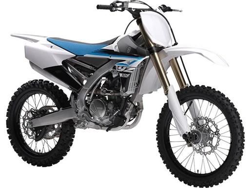 Yamaha yz250f purplish white 2018 new motorcycle for sale for Yamaha yz250f for sale