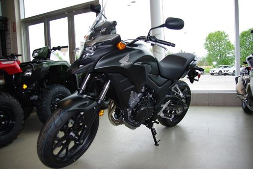 2017 Honda CB500X Matte Gunpowder Black Metallic Photo 1 of 2
