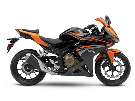 2017 Honda CBR500R ABS Black / Candy Energy Orange Photo 1 of 1