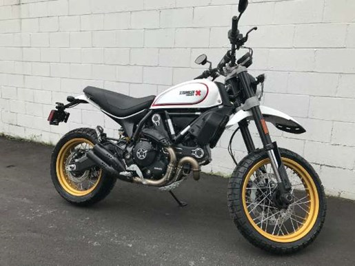 2017 Ducati Scrambler Desert Sled White Mirage Photo 1 of 3