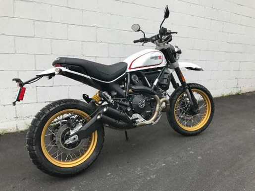 2017 Ducati Scrambler Desert Sled White Mirage Photo 3 of 3