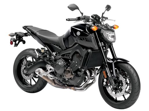 yamaha fz 09 metallic black 2016 used motorcycle for sale in kelowna british columbia. Black Bedroom Furniture Sets. Home Design Ideas