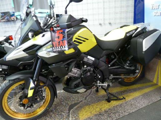 Suzuki V-Strom 1000XT SE ABS Yellow 2018 New Motorcycle ...  Suzuki V-Strom ...
