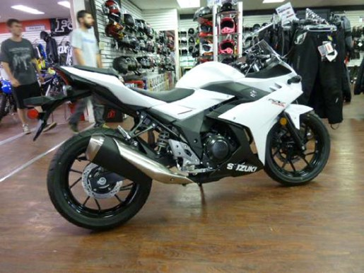 2018 Suzuki GSX250R White Photo 1 of 6