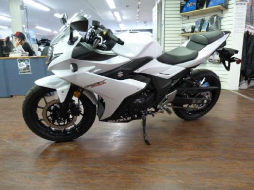 2018 Suzuki GSX250R White Photo 3 of 6