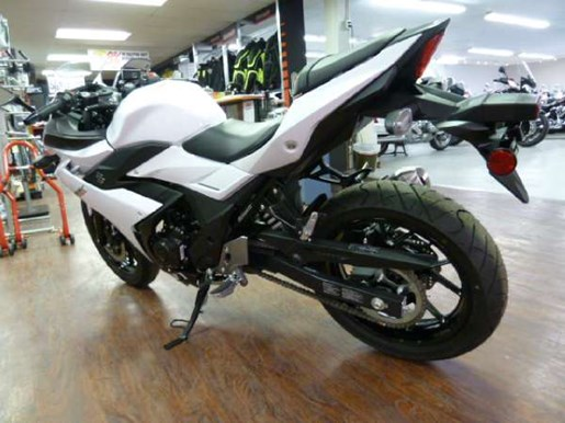 2018 Suzuki GSX250R White Photo 4 of 6