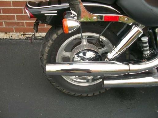 2007 Honda Shadow Spirit (VT1100C) Photo 4 of 25