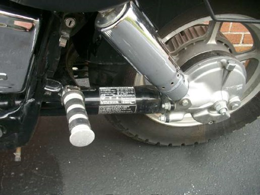 2007 Honda Shadow Spirit (VT1100C) Photo 22 of 25