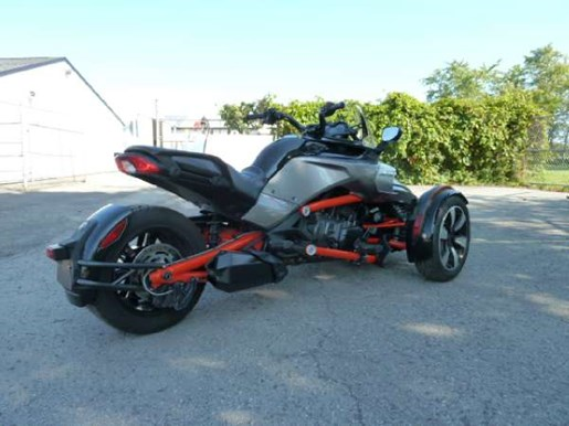 can am spyder f3 s se6 2015 used motorcycle for sale in fenwick ontario. Black Bedroom Furniture Sets. Home Design Ideas