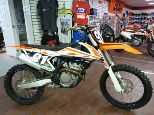 ktm 250 sx f 2017 used motorcycle for sale in fenwick ontario. Black Bedroom Furniture Sets. Home Design Ideas