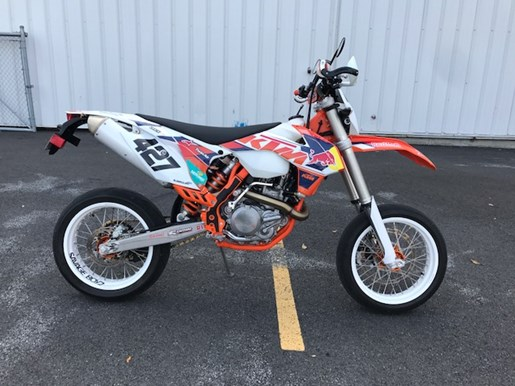 ktm 500 exc f roues de supermotard 2015 used motorcycle for sale in st mathias quebec. Black Bedroom Furniture Sets. Home Design Ideas