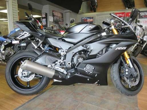 yamaha yzf r6 abs matte dark metallic grey 2017 new motorcycle for sale in fenwick ontario. Black Bedroom Furniture Sets. Home Design Ideas