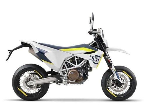 2017 Husqvarna 701 Supermoto Photo 2 of 2
