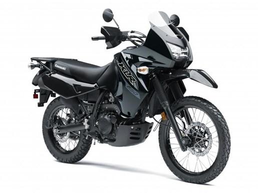 2018 Kawasaki KLR™650 Metallic Spark Black / Metallic Matte Carb Photo 1 of 1