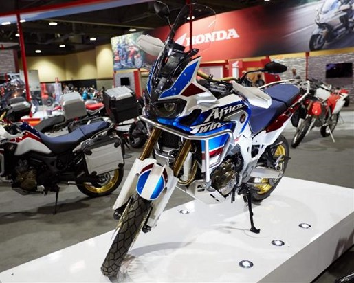 2018 Honda Africa Twin Adventure Sports DCT Photo 1 of 6
