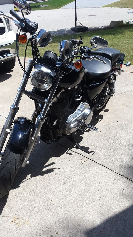 2016 Harley-Davidson Sportster XL883L Superlow Photo 2 of 13