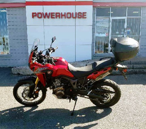 2017 Honda Africa Twin DCT Candy Red Photo 1 of 12