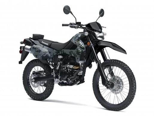 2018 Kawasaki KLX250 CAMO / 26$/sem Photo 2 of 3