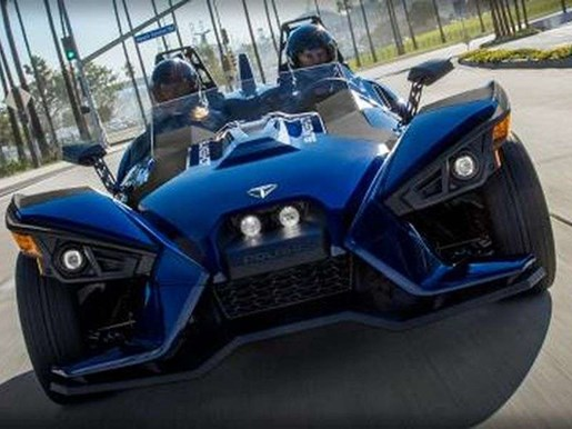 2018 Polaris SLINGSHOT SL NAVY BLUE / 79$/sem Photo 6 of 10