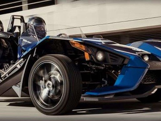 2018 Polaris SLINGSHOT SL NAVY BLUE / 79$/sem Photo 8 of 10