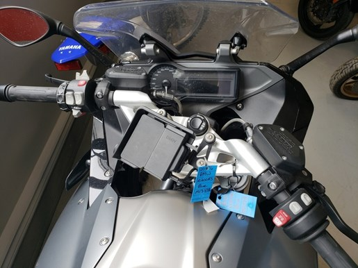 2016 BMW R1200RS Lupin Blue / Light Grey Metallic Photo 2 of 5