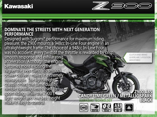 2018 Kawasaki Z900 ABS Photo 3 of 3