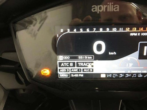 2017 Aprilia RSV4 Factory Photo 9 of 12