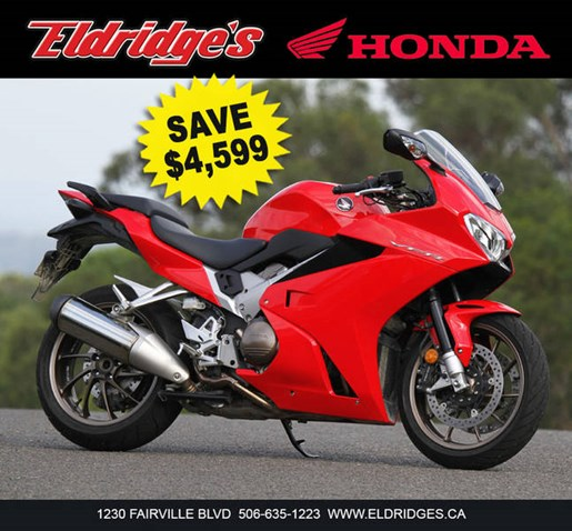 2014 Honda VFR800F Photo 2 of 2