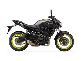 2018 Yamaha MT-07 Matte Metallic Gray Photo 1 of 1
