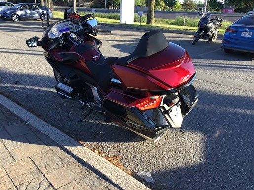 2018 Honda Gold Wing Tour DCT Airbag Photo 5 of 5