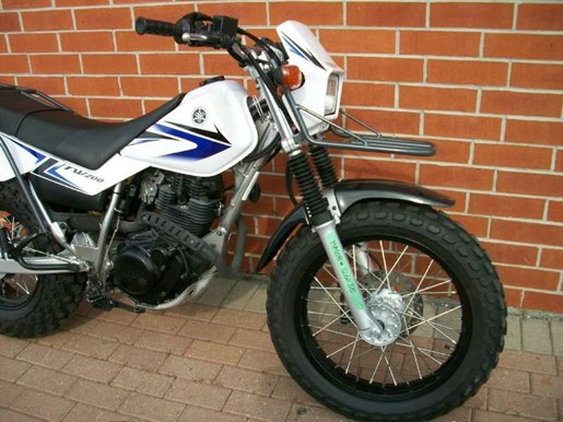 2009 Yamaha TW200 Photo 5 of 11