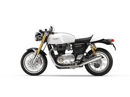 2018 Triumph Thruxton 1200 R Crystal White Photo 1 of 1