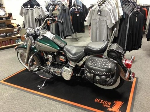 1996 Harley-Davidson FLSTN - Heritage Special® Nostalgia Cow Photo 1 of 1