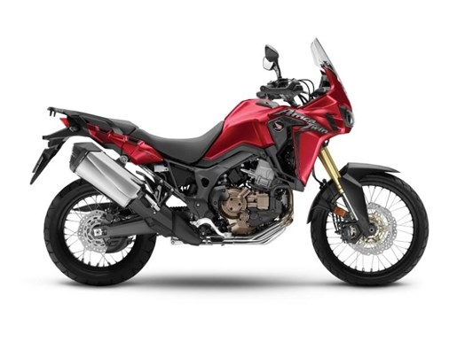 2017 Honda Africa Twin DCT Candy Red Photo 1 of 1
