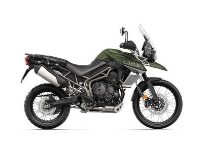 2018 Triumph Tiger 800 XCX Matt Khaki Green Photo 1 of 1