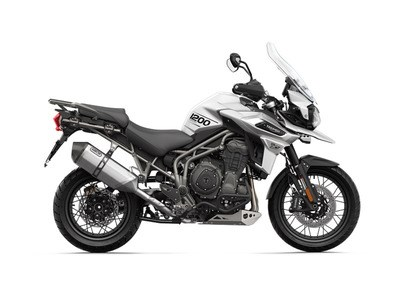 2018 Triumph Tiger 1200 XCA Crystal White Photo 1 of 1