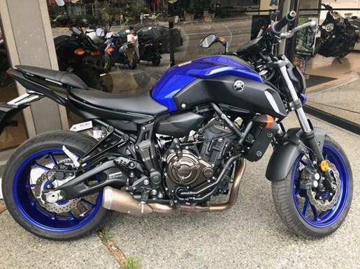2018 Yamaha MT-07 DEMO Photo 2 of 3