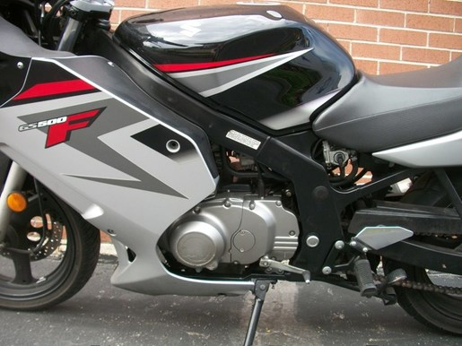 2008 SUZUKI GS500F Photo 13 of 15