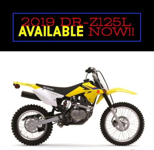 2019 Suzuki DR-Z125L Photo 1 of 1