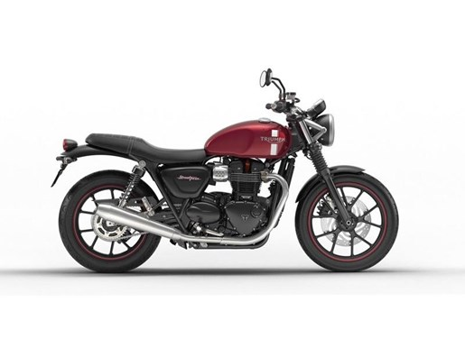 2018 Triumph Street Twin Cranberry Red Photo 1 of 4