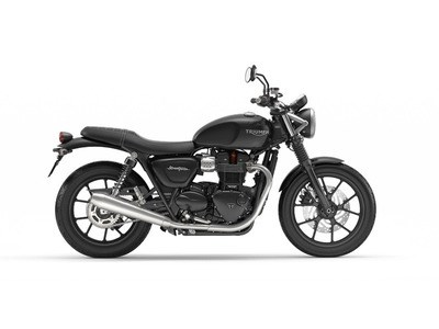 2018 Triumph Street Twin Jet Black Photo 1 of 1