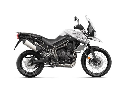 2018 Triumph Tiger 800 XCA Crystal White Photo 1 of 2