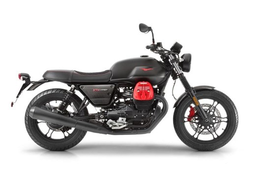 2018 Moto Guzzi V7 III Carbon Photo 1 of 2