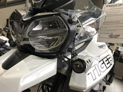 2018 Triumph Tiger 800 XCA Crystal White Photo 4 of 8