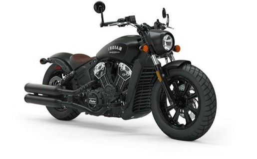 2019 Indian SCOUT BOBBER ABS THUNDER BLACK SMOKE Photo 1 of 7