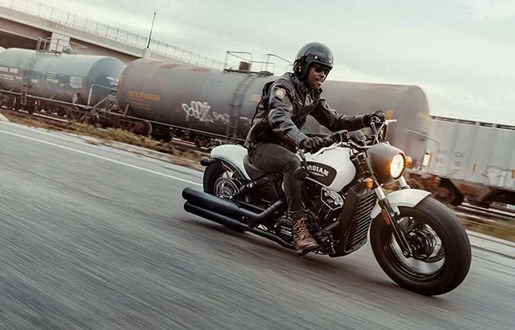 2019 Indian SCOUT BOBBER ABS THUNDER BLACK SMOKE Photo 2 of 7